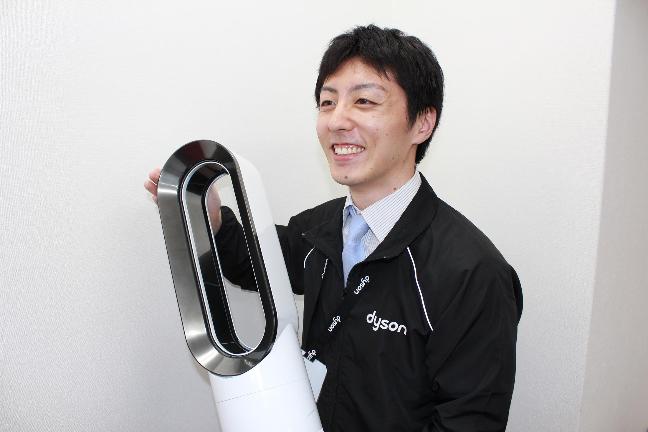 【3月末まで!】未経験OK☆ダイソン*空気清浄機のPRスタッフ